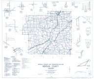 Morgan County 1962 - Monrovia, Eminence, Hall, Centerton, Wilbur, Five Points, Indiana State Atlas 1958 to 1963 Highway Maps