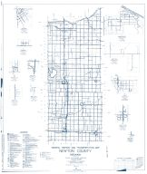 Newton County 1961 - Roselawn, Foresman, Ade, Sumava Resorts, Thayer, Lake Village, Indiana State Atlas 1958 to 1963 Highway Maps