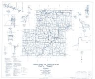 Owen County 1961 - Patricksburg, Carp, Coal City, Quincy, Jordan, Adel, Daggett, Freedom, Cataract, Indiana State Atlas 1958 to 1963 Highway Maps