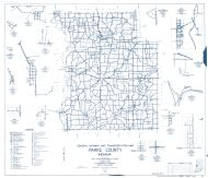 Parke County 1960, Lodi, Guion, Klondike, Tangier, Catlin, Lyford, Numa, Jessup, Portland Mills, Mecca, Hollandsburg, Mansfield, Indiana State Atlas 1958 to 1963 Highway Maps