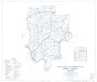 Perry County 1937 - Revised 1958, Indiana State Atlas 1958 to 1963 Highway Maps