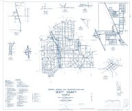 Scott County 1962 - Nabb, Vienna, Blocher, Leota, Austin, Lexington, Indiana State Atlas 1958 to 1963 Highway Maps