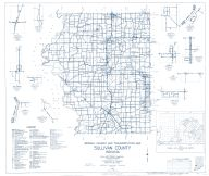Sullivan County 1962 - Graysville, New Lebanon, Riverton, Merom Station, riverview, Scott City, Fairbanks, Lewis, Indiana State Atlas 1958 to 1963 Highway Maps