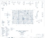 Tipton County 1962 - West Elwood, Normanda, Nevada, Hobbs, Curtisville, Goldsmith, Indiana State Atlas 1958 to 1963 Highway Maps