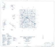 Union County 1961 - Dunlapsville, Brownsville, cottage Grove, Indiana State Atlas 1958 to 1963 Highway Maps