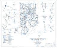 Vanderburg County 1959 - Martin, Darmstadt, Hillsdale, Daylight, Indiana State Atlas 1958 to 1963 Highway Maps