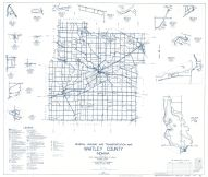Whitley County 1960 - Etna, Ormas, Laud, Collamer, Collins, Coesse, Indiana State Atlas 1958 to 1963 Highway Maps