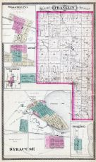 Franklin Township, Wooster P.O., Atwood, Sevastopol, Beaver Dam, Syracuse, Webster, Kosciusko County 1879