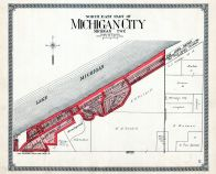 Michigan city north east atlas la porte county 1921 for What county is michigan city indiana in