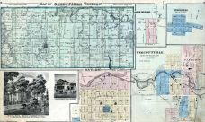 Greenfield Township, Ontario, Wolcottville, South Milford, Springfield, Lagrange County 1874