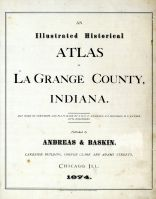 Title Page, Lagrange County 1874