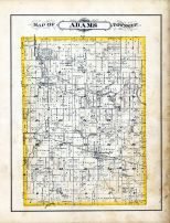Adams Township, Madison County 1880