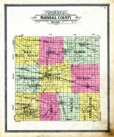 Outline Map, Marshall County 1908