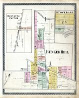 Bennetts Switch, Stockdale, Bunker Hill, Miami County 1877