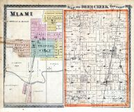 Deer Creek Township, Miami, Miami County 1877