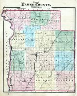 County Map, Parke County 1874