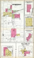Bloomingdale, Armiesburg, Lena, Nyesville, Judson, Bellmore P.O., Parke County 1908