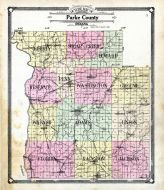 Parke County 1908 Indiana Historical Atlas