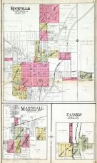 Rockville, Marshall, Tangier, Parke County 1908
