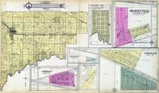 Boone Township, Hebron, Crisman, Burdick, Prattville, Wheeler, Gilbertville, East Chicago, Porter County 1906