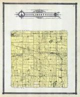 Liberty Township, Woodville, Crocker, Mud Lake, Long Lake, Porter County 1906