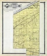 Pine Township, Lake Michigan, Fish Lake, Calumet River, Porter County 1906