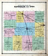 Outline Plan County Map, Randolph County 1874