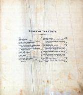 Table of Contents, Randolph County 1874
