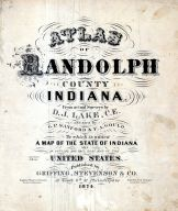 Title Page, Randolph County 1874