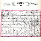 Green Township, Randolph County 1882