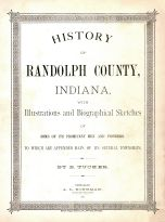 Title Page, Randolph County 1882