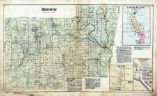 Brown, Cross Plains, Olean, Friendship, Ripley County 1883