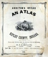 Title Page, Ripley County 1883