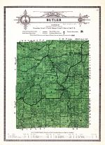 Butler Township, Ripley and Franklin Counties 1921