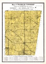 Franklin Township, Ripley and Franklin Counties 1921