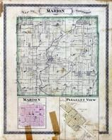 Marion Township, Pleasant View, Little River, Shelby County 1880