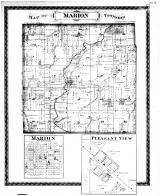 Marion Township, Marion, Pleasant View, Shelby County 1880 Microfilm