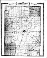 Shelby County Map, Shelby County 1880 Microfilm