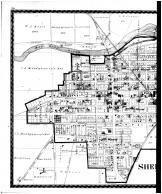 Shelbyville, Fairland, Fountaintown, Norristown - Left, Shelby County 1880 Microfilm