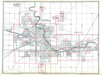 South Bend And Mishawaka Cities Indiana Historical Atlas - South bend map