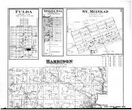 Harrison Township, Fulda, Spring Sta., St. Meinrad - Above, Spencer County 1879 Microfilm