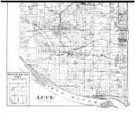 Luce Township, Pyeattsville, Eureka, French Island City, Enterprise, Richland City, Lake P.O. - Below, Spencer County 1879 Microfilm