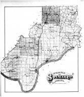 Spencer County Outline Map, Spencer County 1879 Microfilm