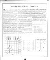 Instructions in Land Description, Spencer County 1896