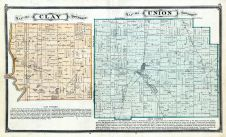 Clay Township, Union Township, St. Joseph County 1875