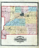 Index Map, St. Joseph County 1875