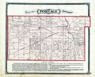 Portage Township, St. Joseph County 1875