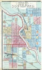 South Bend City - East, St. Joseph County 1875