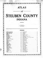 Index and Title Page, Steuben County 1912