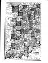 Indiana State Map, Steuben County 1912